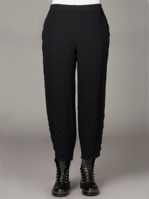 Textured Trousers by Grizas