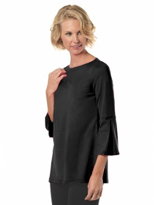 The Bell Sleeve Top by A'nue Miami