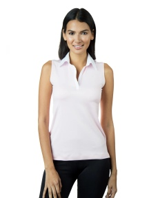 The Cotton Collar Sleeveless Top by A'nue Miami