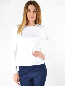 The Perfect Crew Top by A'nue Miami