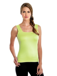 The Square Scoop Reversible Tank by A'nue Miami