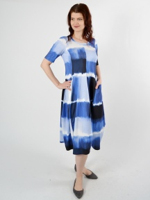 Tie Dye Dress by Q'neel