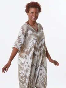 Tie Dye Gauze Teagan Dress by Bryn Walker