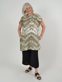 Tie Dye Linen Ansel Tunic by Bryn Walker