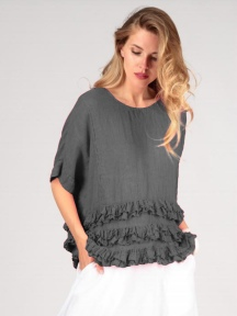 Tiered Ruffle Blouse by Grizas