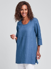 Tranquil Pullover Tunic by Flax