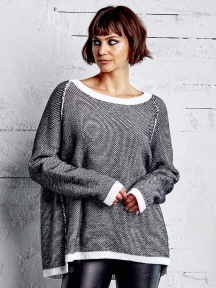 Tweed Sweater by Planet