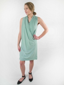 Twist Dress by BRYN WALKER