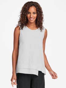 Vancouver Linen Tank by Flax