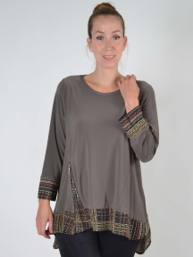 Vienna Tunic Top by Sun Kim