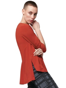 Virtue 3/4 Sleeve Top by Porto