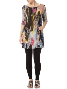 Watercolor Pocket Tunic by BABETTE