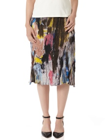 Watercolor Skirt by BABETTE