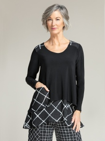Whisper Pocket Top by Sympli
