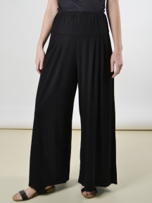 Wide Pleat Drape Pant by Alembika