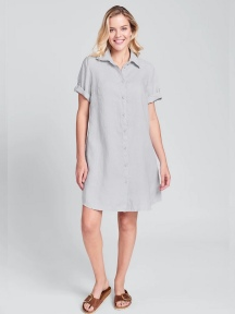 Work Shirt Dress by Flax