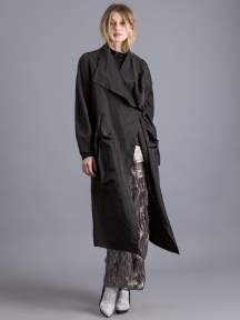 Wrap Trenchcoat by Alembika
