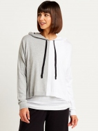 2 Tone Hoodie by Planet