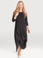 3/4 Sleeve Drama Dress