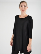 3/4 Slv Simple Tunic by Sun Kim