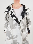 Andi Print Duo-Tone Reversible Jacket by Mycra Pac