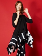 Asymmetrical Tunic by Alembika