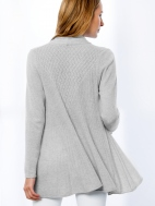 Back Detail Cardigan by Kinross Cashmere