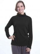 Basic Mock Neck Top by Chalet