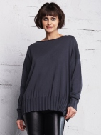 Boat Neck  Sweater by Planet