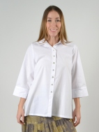Boxy Button Down Top by Alembika