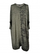 Bubble Print Crinkle Tunic by Grizas