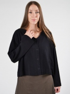 Button Back Cardigan by Pacificotton