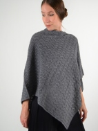 Cable Topper by Kinross Cashmere
