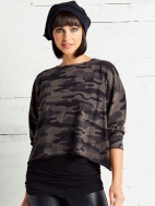 Camo Crop Tee by Planet