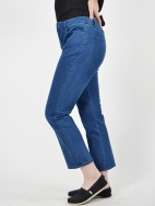 Casey Crop Jean by Peace Of Cloth