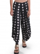 Charcoal Dot Punto Pant by Alembika