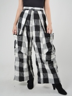 Checkered Pocket Pant by Alembika