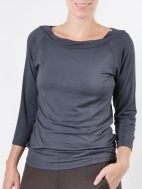 Cindy Portrait Top by Comfy USA