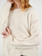 Coconut Pullover by MARGARET O'LEARY