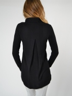 Cowl Pleat Back Tunic by Kinross Cashmere