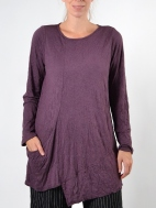 Crinkle Heather Top by Comfy USA