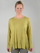 Crinkle Tunic Top by Comfy USA
