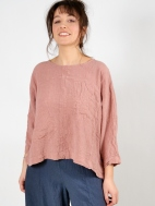 Crinkled Pocket Blouse by Grizas