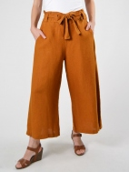 Crop Tie Waist Pant by Bryn Walker