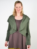 Crop Wrap Coat by Bryn Walker