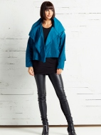 Cropped Asymmetrical Jacket by Planet