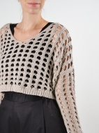 Cropped Crochet by Planet
