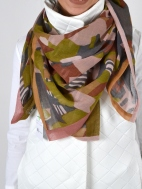 Danka Abstract Print Scarf by Amet & Ladoue