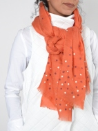 Dara Cashmere and Silk Blend Scarf by Amet & Ladoue