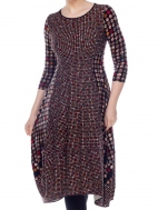 Dot Mosaic Kati Dress by Comfy USA